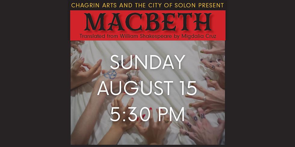 MACBETH Aug. 15