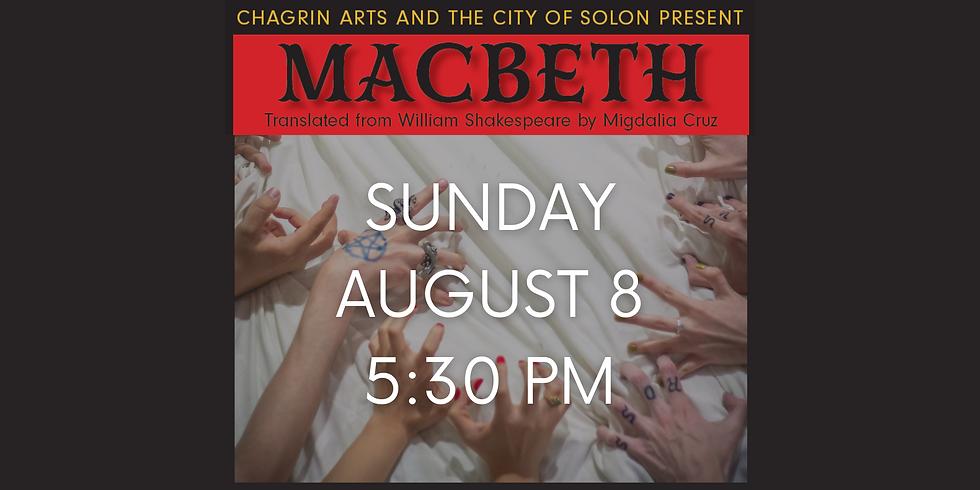 MACBETH Aug. 8