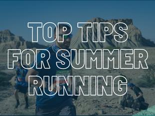 Here's RunDNA's Top 4 Tips for Summer Running