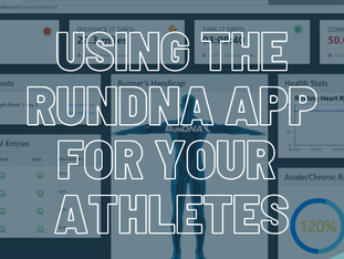 Using the RunDNA App for Your Athletes