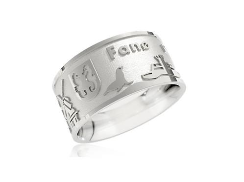 Fanø-Ring 2021, Silber,  Preis inkl. Mwst.