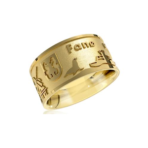 Fanø-Ring 2021, Echtgold;      Preis inkl. Mwst, ab: