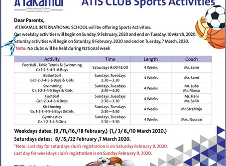 ATIS CLUB Spots Activities