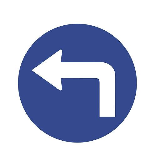 Turn Left Direction