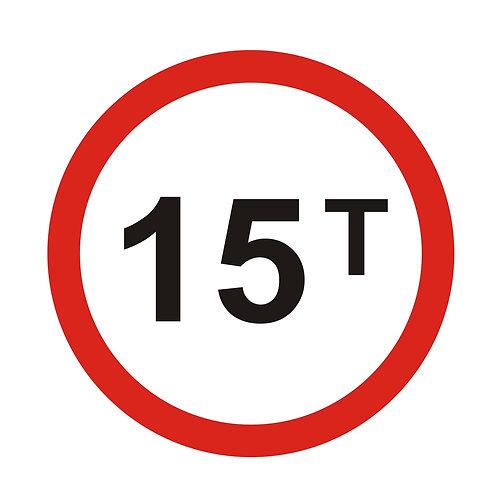 Vehicle's Weighting Prohibited