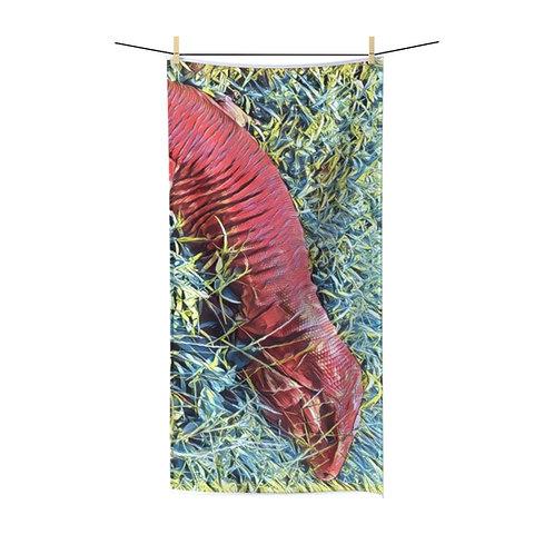 Red Tegu Lizard Towel
