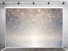 Hintergrund: Pailletten grau