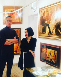 Moscow Meeting with Artists