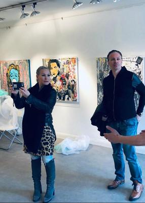 Stockholm, Sweden Artist Gallery Launch