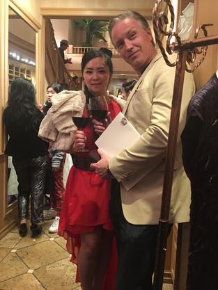 Beverly Hills couture designer art event