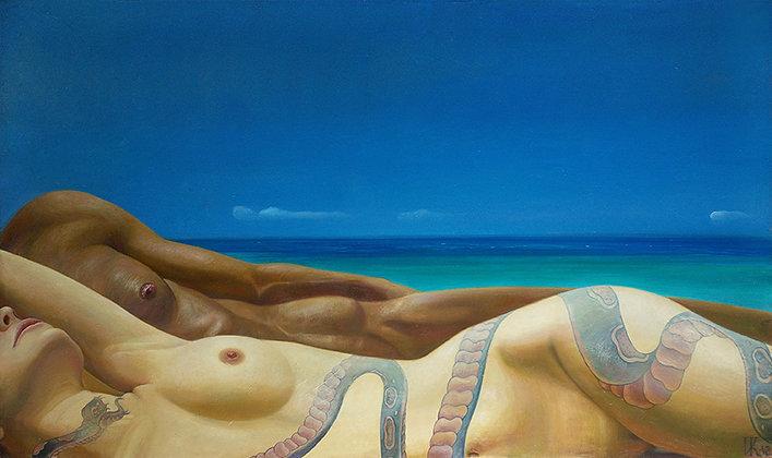 Adam & Eve  by Ivan Korshunov