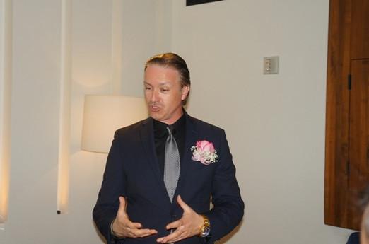 Philip DeClare Speaking at Patina Walt Disney Hall