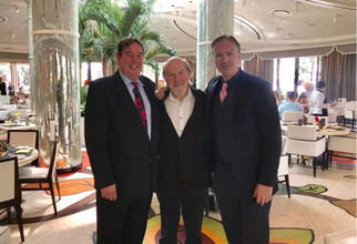 Event at Wynn Hotel with Larry Marchant and Joel Theisman