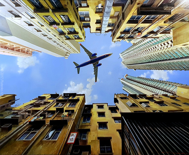 Over the Roofs of Hong Kong