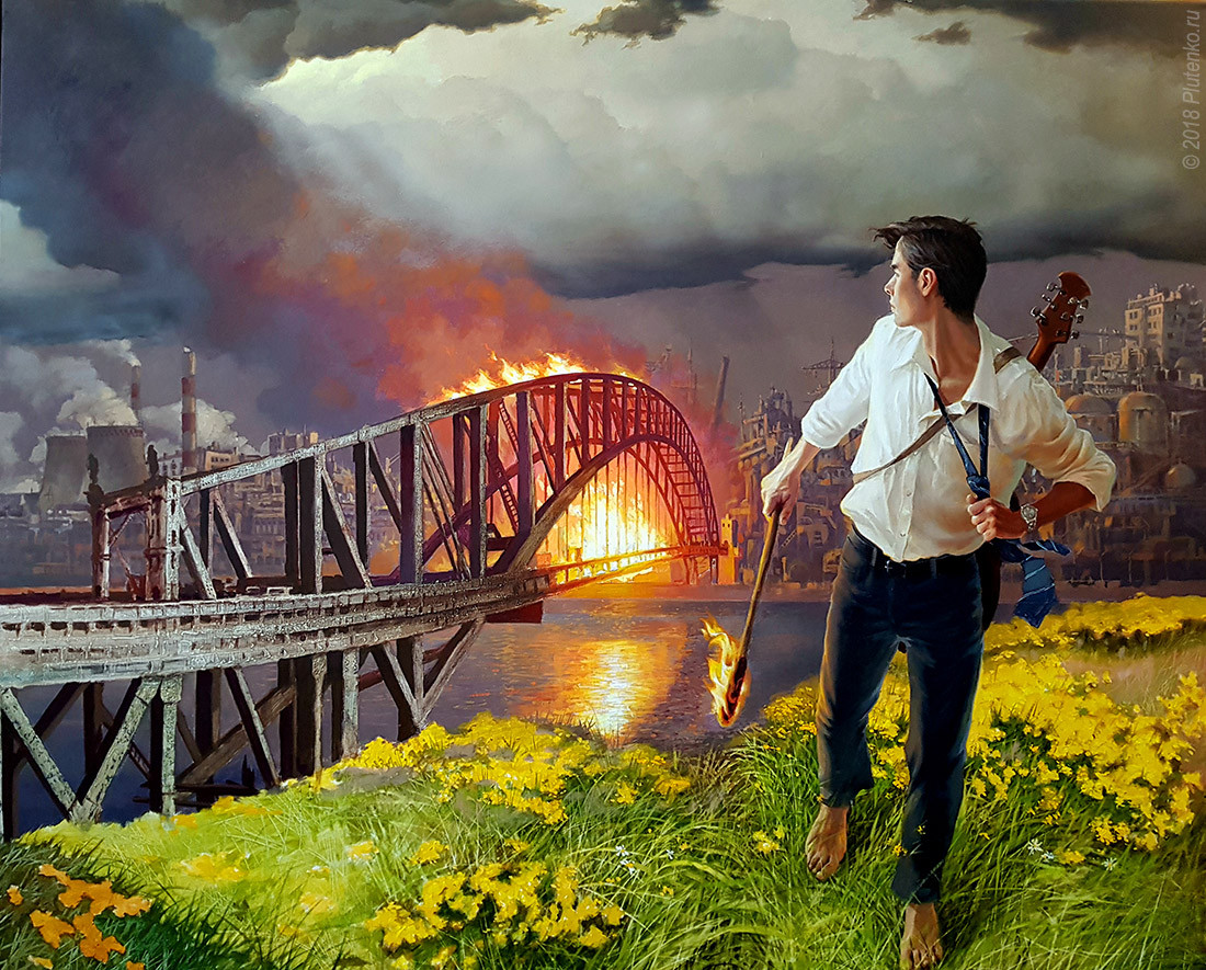 Burning all the bridges