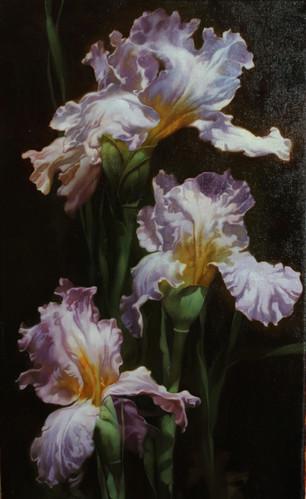 Iris Lilac Wreath