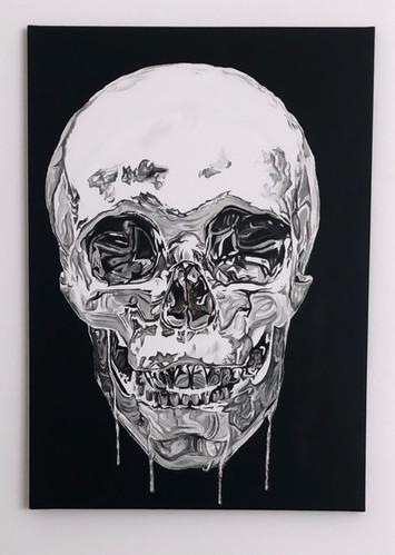 drippin skull