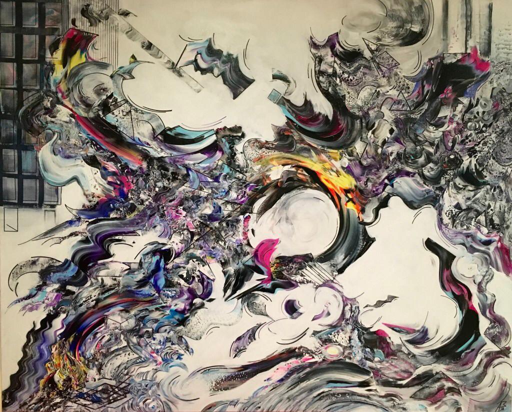"""Reflection"" Opus 516 120/150cm"