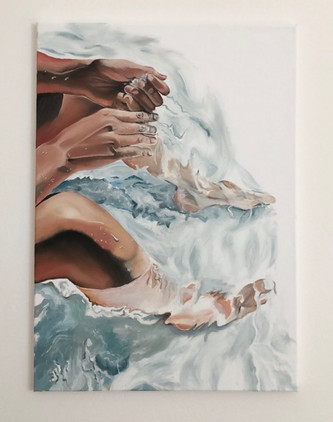water and skin