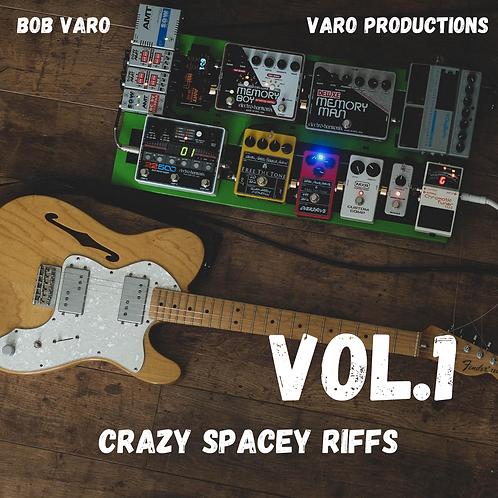 Crazy Spacey Riffs - Vol.1