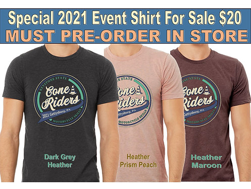 2021 Special Event T-shirt - MUST PRE-ORDER