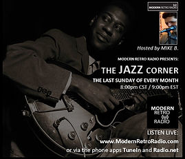 (flyer) The JAZZ Corner with MIKE B.!.jp