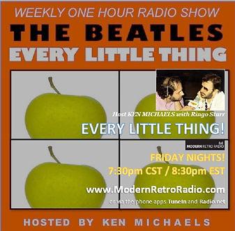 (flyer) Every Little Thing [Beatles Radi