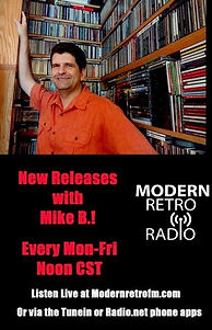 (flyerCROPPED) New Releases with Mike B.
