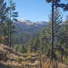 Sierra Blanca mountain