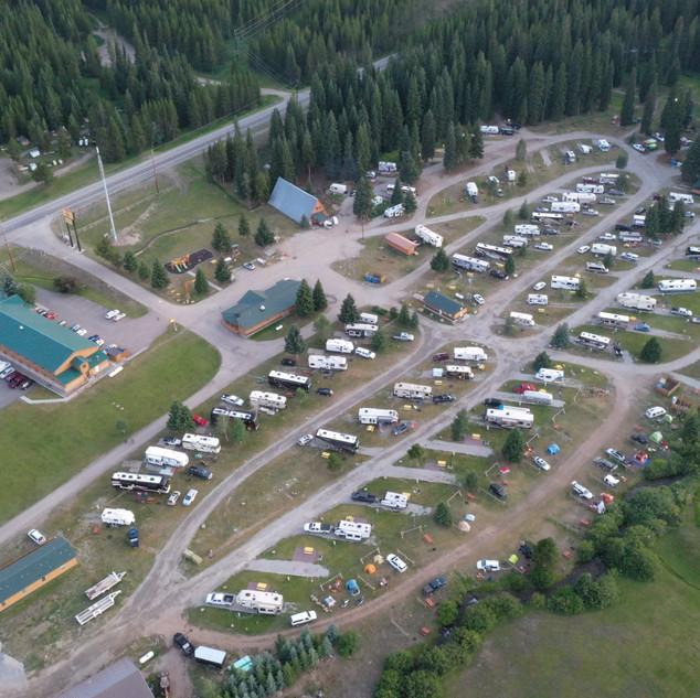 KOA Campground, MT