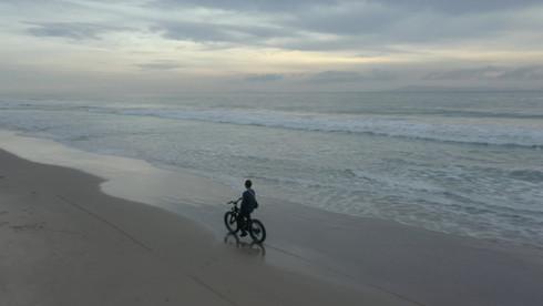 Fat Tire beach ride