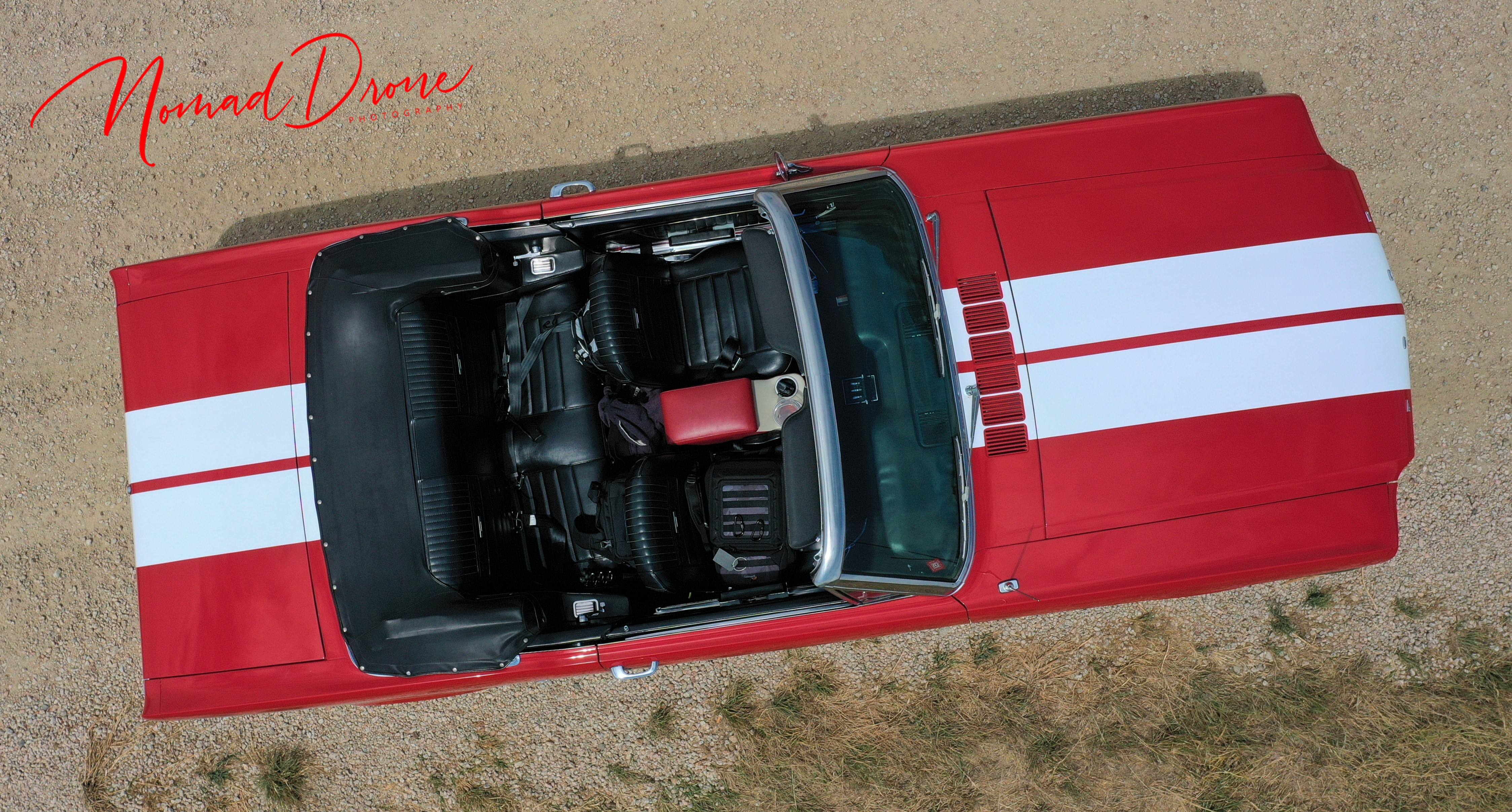 Mustang overhead