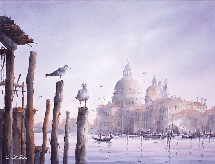 aquarelles aquarelle peinture peintures graniou dumont