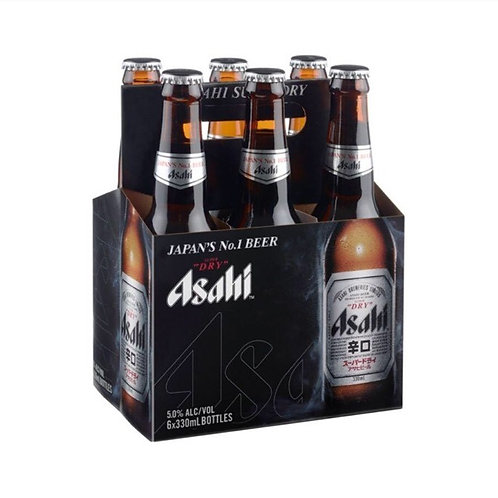 Add on 6 pack Asahi