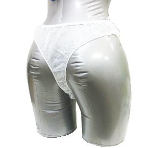 オリジナル Tバッグショーツ (白地 水玉模様)10枚