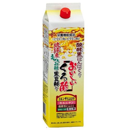 琉球産もろみ酢入り おいしいくろ酢 1800ml