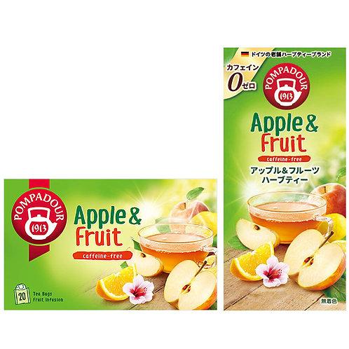 ポンパドール アップル&フルーツハーブティー 20TB