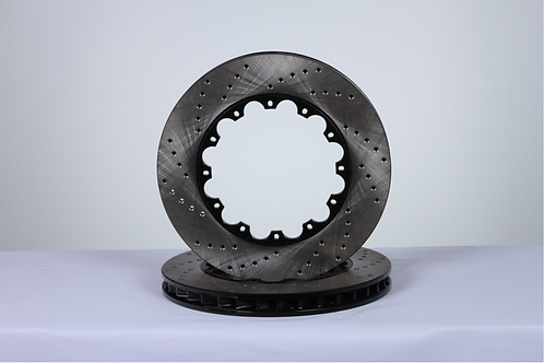 Brake rotors without hats (pair)