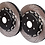 "Thumbnail: NISSAN 350Z (03-08) FRONT BRAKE KIT 6-POT 356X32mm (17/18""+)"