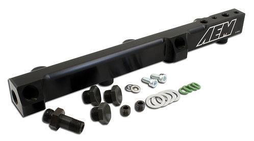 AEM High Volume Fuel Rail. Black Honda F22A1, F22A4, F22A6, H22A1, H22A4 & H23A1