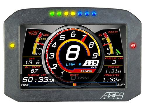 CD-7 Carbon Flat Panel Digital Dash Display