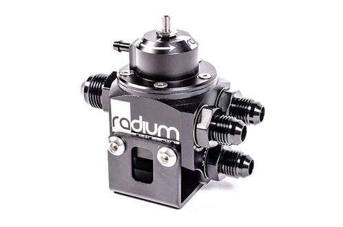 Radium multi port adjustable fuel pressure regulator