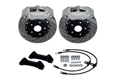 "MINI R56 COOPER S (06-UP) FRONT BRAKE KIT 4-POT 330X32mm (17""+)"