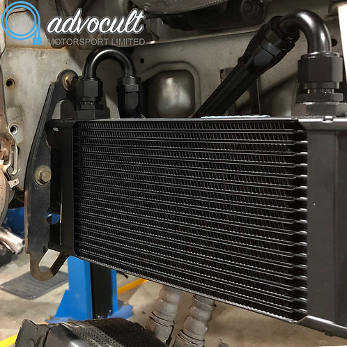 RX7 FD3s 19row twin oil cooler kit
