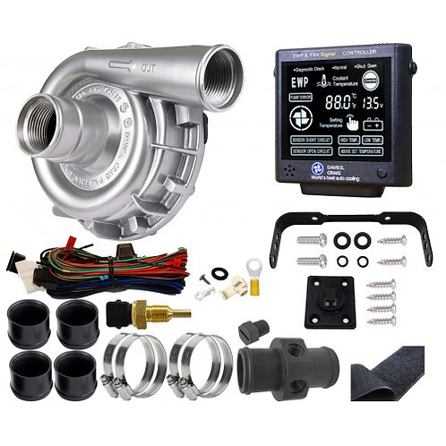 EWP115 ALLOY COMBO - 12V 115LPM/30GPM REMOTE ELECTRIC WATER PUMP & CONTROLLER (8