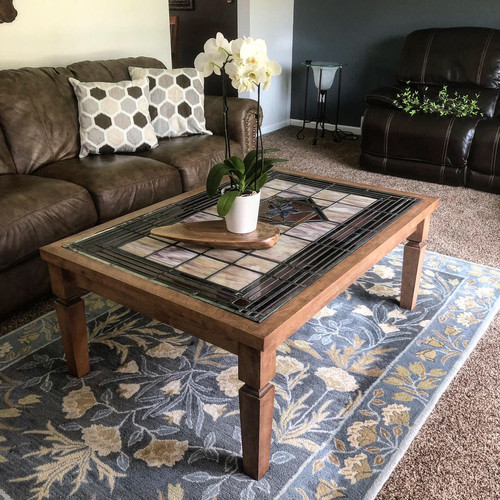 Stained Glass Coffee Table