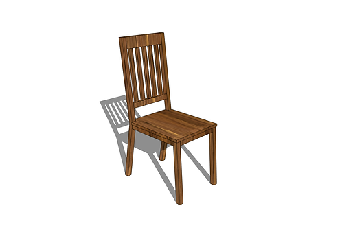 Modern Mission Dining Chair