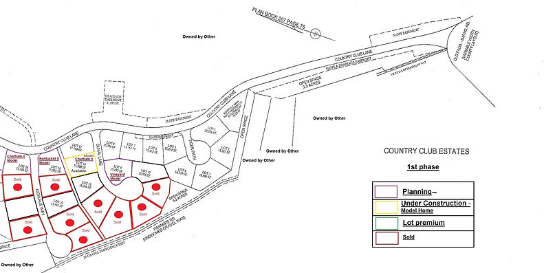 Country Club Estates - 1st phase (Update