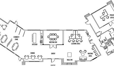 floor plan space planning interior design san diego