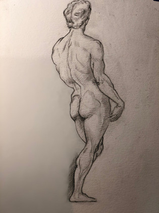 Raphael's Figure Study